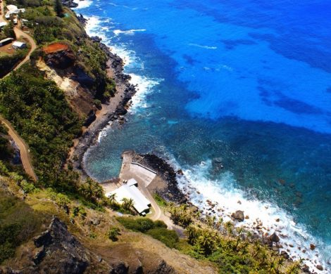 Das Wrack der Bounty liegt auf dem Meeresgrund in der Bounty Bay
