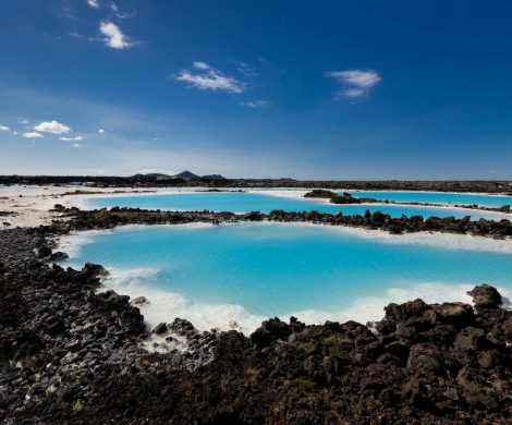 Lagune in Island