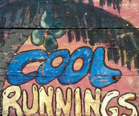 Schild Cool Runnings Reisereportage Jamaika