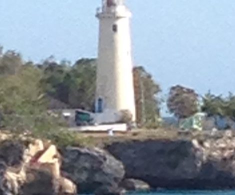 Leuchtturm in Negril