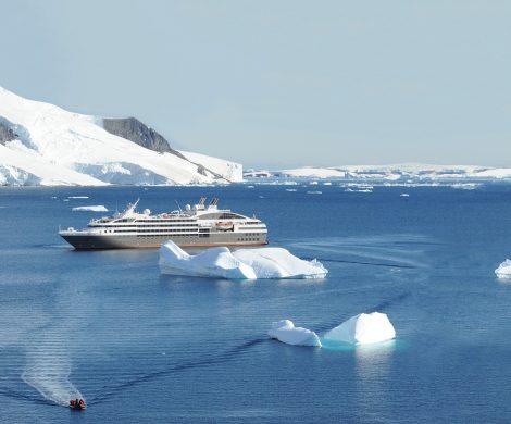Ponant engagiert sich auch in der Arktis für Umweltschutz