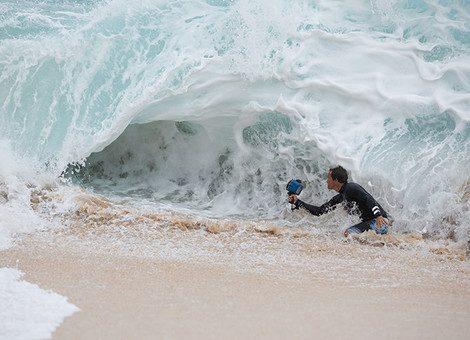 Mittendrin statt oben drauf: Vom Surfer zum Fotografen