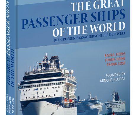 Titelbild The Great Passengerships of the World, überall nur als Kludas bekannt