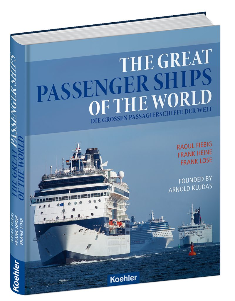 Titelbild The Great Passengerships of the World, überall nur als Kludas bekannt