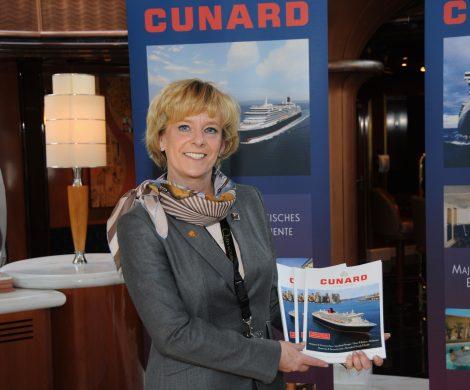 Die Pressekonferenzen an Bord der Cunard Queens sind legendär