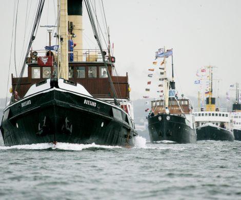 Das Flensburger Dampfschifftreffen findet alle zwei Jahre statt