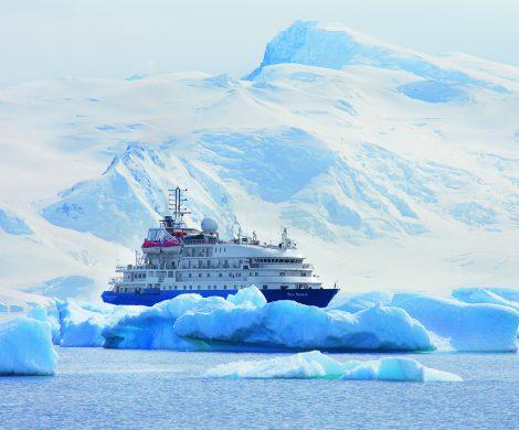 Die Sea Spirit ist für die herrschenden Bedingungen erstklassig ausgerüstet