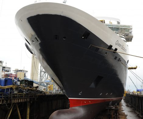 Die Queen Elizabeth wurde bei Fincantieri in Triest gebaut