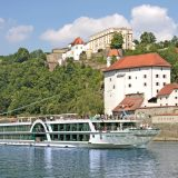 Die AMADEUS Brilliant von Lüftner auf der Donau bei Passau