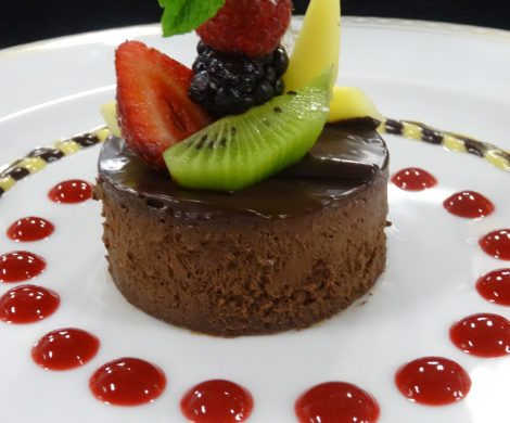 Veganer Chocolate Cheese Cake