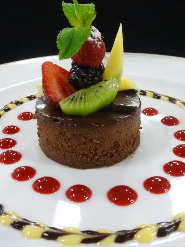 Veganer Chocolate Cheese Cake