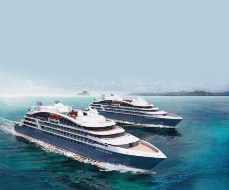 Die Ponant Explorerklasse besteht aus vier baugleichen Expeditionsschiffen