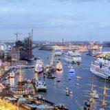 AIDA schickt vier Schiffe zum Hamburger Hafengeburtstag
