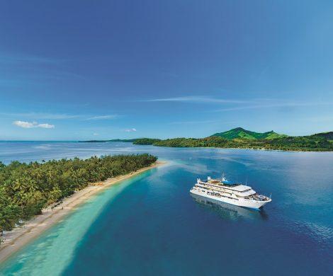 Die Fiji Princess fährt zu den schönsten Inseln des Archipels