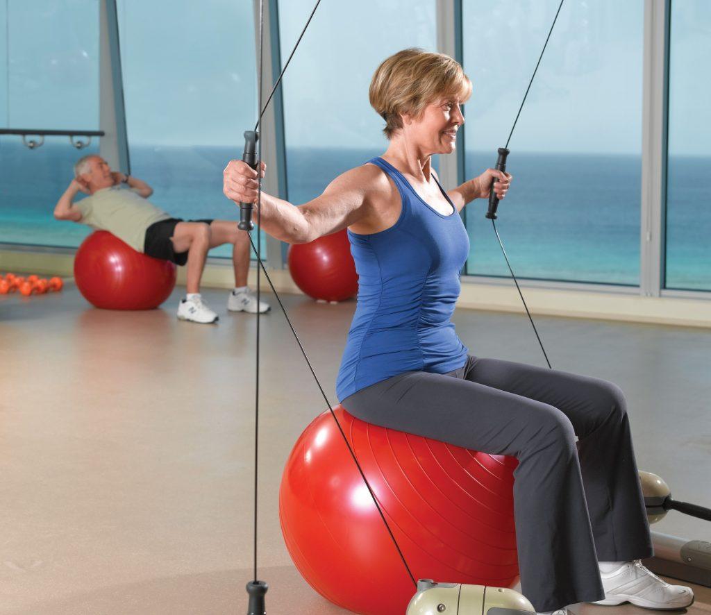 Oceania bietet mit mehr als 24 Kursen das umfangreichste Wellness und Sportprogramm auf See