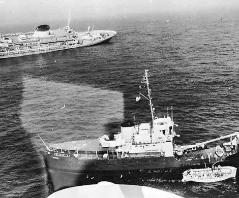 Schnell eilen andere Schiffe zur Hilfe