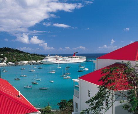 Die Carnival Paradise fährt in die Karibik