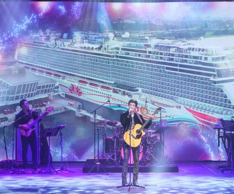 Taufe Norwegian Joy Wang Leehom