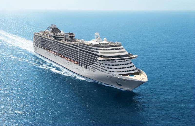 MSC Kreuzfahrten gibt bis zu 730 Euro Frühbucherrabatt