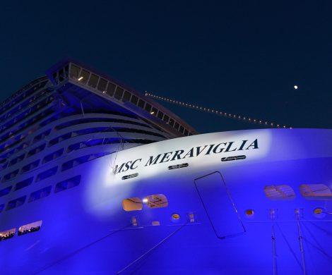 Die Taufe der MSC Meraviglia