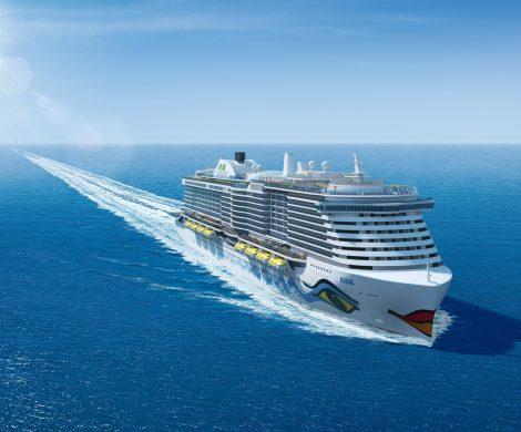Die neue Schiffsgeneration von AIDA soll nicht nur im Hafen, sondern auch während der Fahrt mit LNG betrieben werden