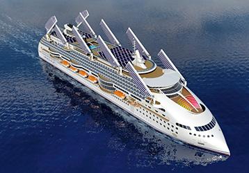 Das Ecoshop von Peace Boat soll das sauberste Kreuzfahrtschiff der Welt werden