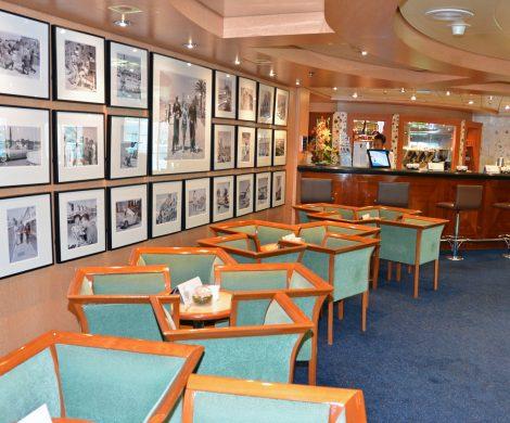Ein Paradies für Kaffee-Liebhaber: Café Eze auf Deck 6.