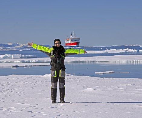 Die Arbeit auf der MS Expedition von G Adventures ermöglicht Jenny lange Aufenthalte in Arktis und Antarktis