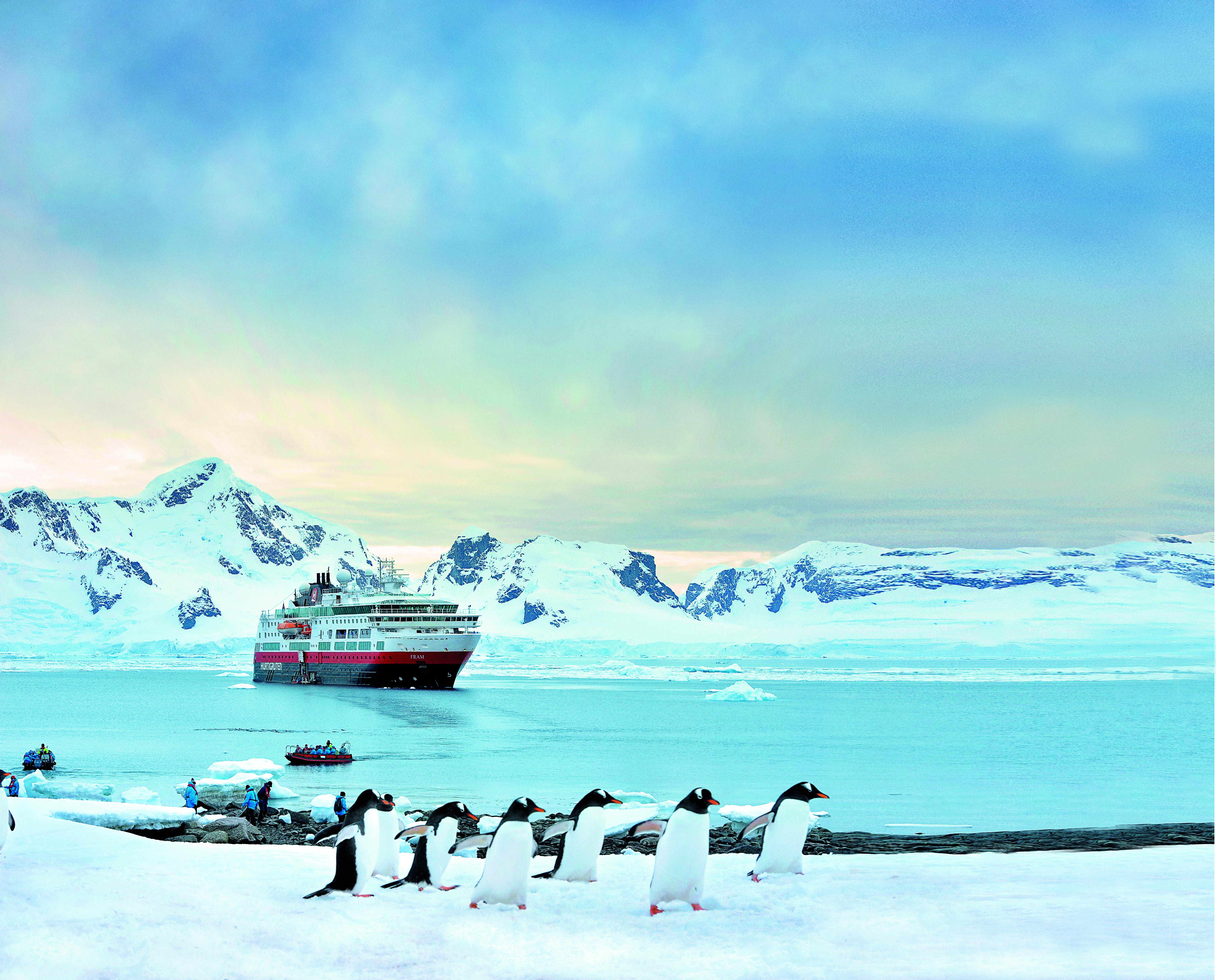 Die Zahl der Besucher in der Antarktis steigt wieder