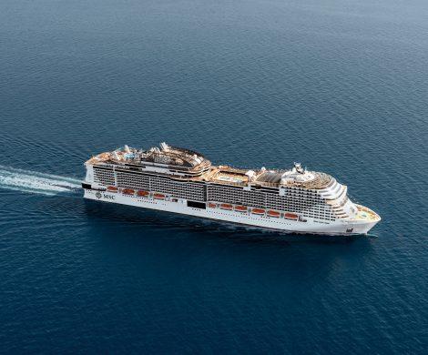 Das neueste Mitglied der Flotte: MSC Meraviglia