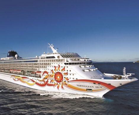 Die Norwegian Sun geht ins Dock und wird modernisiert