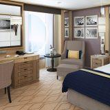 Einzelkabinen wurden bei Cunard ausgebaut