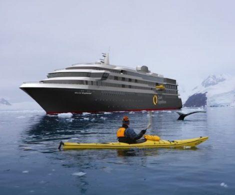 Die World Explorer soll auf dem deutschen Markt von nicko cruises vertrieben werden