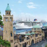 Facelift für die Luxusschiffe: Im September/Oktober 2017 begeben sich sowohl die EUROPA als auch die EUROPA 2 von Hapag-Lloyd Cruises für einen turnusmäßigen Werftaufenthalt ins Dock der Hamburger Werft Blohm+Voss.