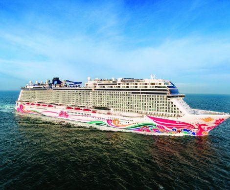 Der Kreuzfahrtmarkt Asien wächst: Hier die Norwegian Joy