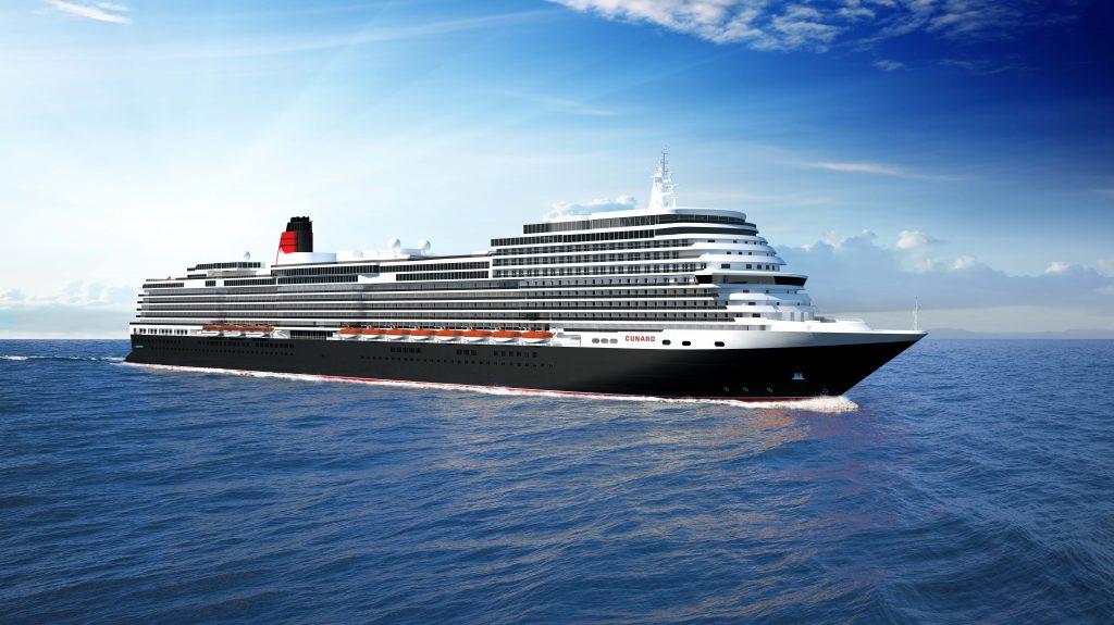 Cunard baut ein neues Schiff, das 2022 in Dienst gestellt werden soll