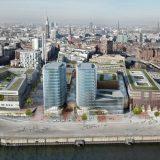 Am neuen Kreuzfahrtterminal in Hamburgs HafenCity soll eine Anlage für Landstrom entstehen