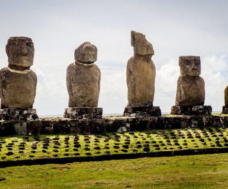 Die ältesten Statuen stammen aus dem 7. Jahrhundert