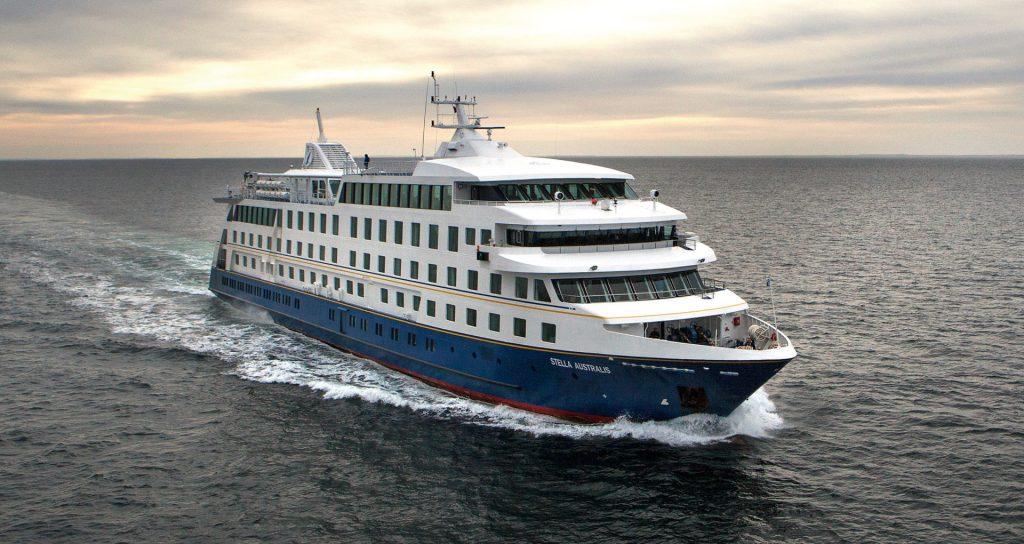 Am 2. Januar 2018 wird mit der neuen Ventus Australis ein neues Expeditionsschiff für Kap Hoorn in Dienst gestellt.