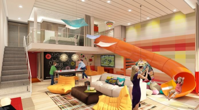 Die neueSymphonie of the Seas der Reederei Royal Caribbean International wird viele Neuerungen wie Gesichtserkennung beim Check-in, Apps für das Bordkonto der Passagiere, große Familiensuiten mit Rutschen, eine Lasertag- Arena und neue Restaurantkonzepte bieten.
