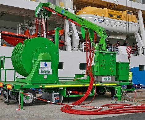 Besser für die Umwelt: Betankung mit LNG