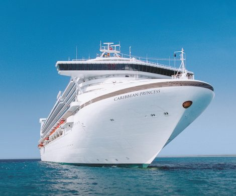 Caribbean Princess - Erster Mega-Cruiser im Panamakanal