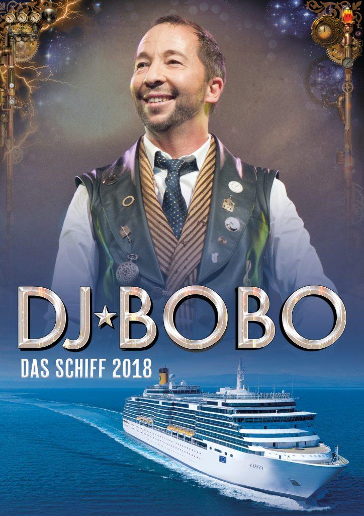 DJ Bobo geht auf Kreuzfahrt