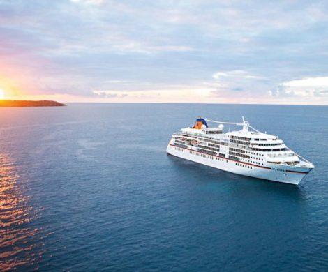 Festtage auf hoher See bietet Hapag-Lloyd: Die Gäste der EUROPA verbringen die Weihnachtstage auf einer Reise von Progreso nach Acapulco vor den Küsten Honduras und Costa Ricas.