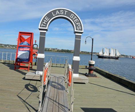 Der Hafen Halifax war die erste Station von Auswanderern in die neue Welt