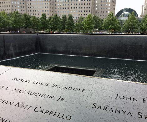 Beklemmend: das Denkmal für die Toten vom 11. September