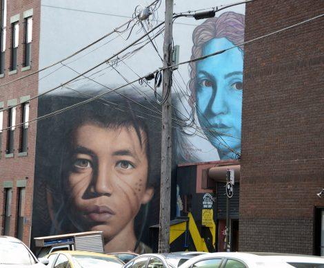 Im Trendviertel Williamsburg haben sich viele Künstler niedergelassen