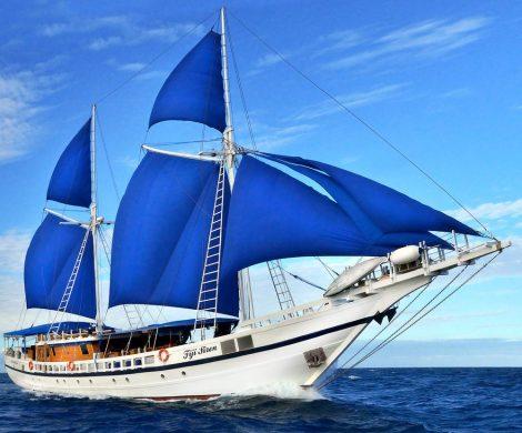 Vor Fidschi gesunken: die Fidji Siren
