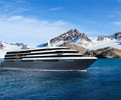 Die World Explorer soll auch zur Nordspitze Grönlands fahren