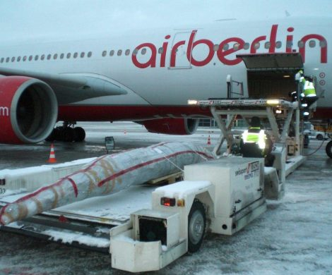 Da flog Air Berlin sogar noch den Weihnachtsbaum